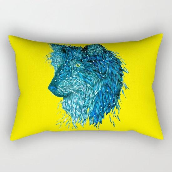 Pop Wolf Rectangular Pillow
