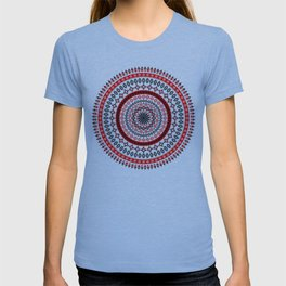 Mandala Romanian traditional symbols T-shirt