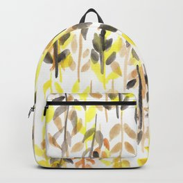 170418 Leaves Watercolour 11 Backpack
