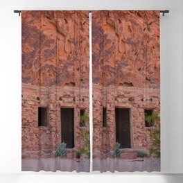 CCC Cabins-1, Valley of Fire State Park, Nevada Blackout Curtain