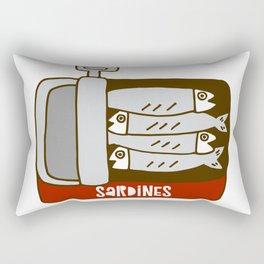Sardines Rectangular Pillow