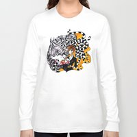 lantern Long Sleeve T-shirts featuring Lantern by T.I.B ARTWORK