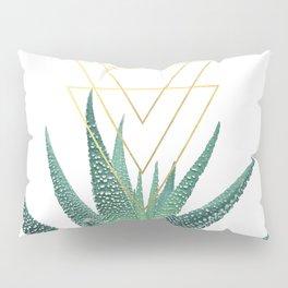 Succulent geometric Pillow Sham