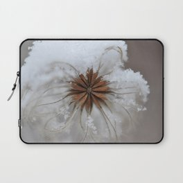winter flower Laptop Sleeve