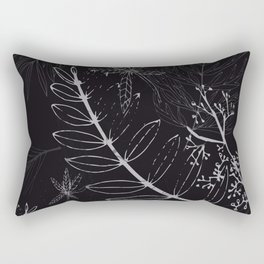 A night in a park Rectangular Pillow