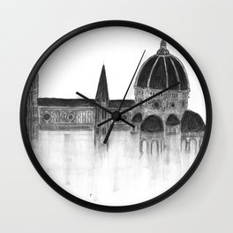 Duomo of Florence Wall Clock