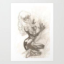 Catwoman. Art Print