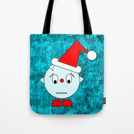 Funny Emotionless Head Tote Bag