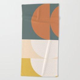 Abstract Geometric 02 Beach Towel