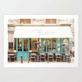 Chez Julien Art Print