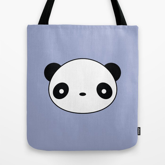Kawaii And Cute Panda Tote Bag by wordsberry  628ecc76cb72d
