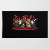 Where the Slashers Are (Full Color) Rug