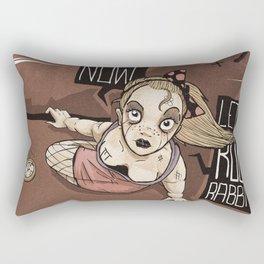 Bad Ass Alice   Rectangular Pillow