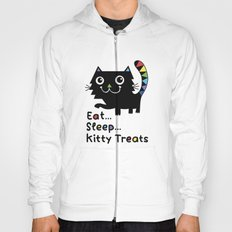 Eat, Sleep, Kitty Treats  Hoody