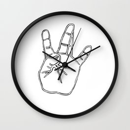 West Coast //WC Wall Clock