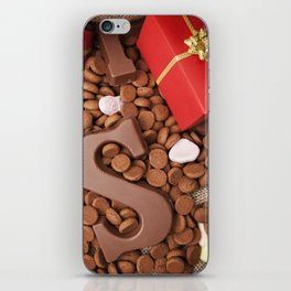 I - Bag with treats, for traditional Dutch holiday 'Sinterklaas' iPhone Skin