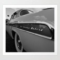 1955 Chrysler New Yorker DeLuxe Art Print