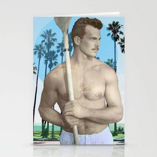 California Man  Stationery Cards