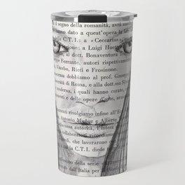 Nina - Pencil drawing Travel Mug