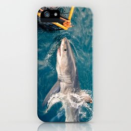 South Africa - Great White Shark Bite 1 iPhone Case
