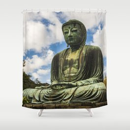 Great Buddha of Kamakura / Daibutsu Shower Curtain