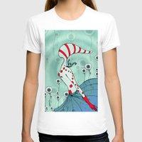 flight T-shirts featuring flight by DanilaTrubarova
