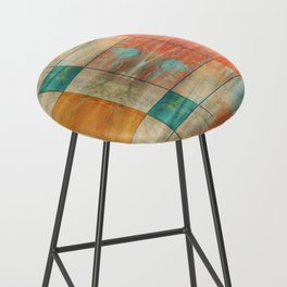 MidMod Graffiti 5.2M Bar Stool