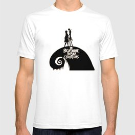 Jack and Sally - The Nightmare Before Christmas T-shirt
