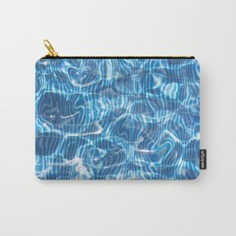 Abstract Water Pool Carry-All Pouch