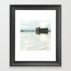 City Rising Framed Art Print