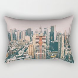 New York architecture 4 Rectangular Pillow