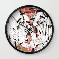 friendship Wall Clocks featuring Friendship by 5wingerone
