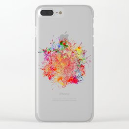 Mandala - Vandal Clear iPhone Case