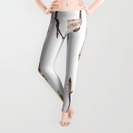 Boho Arrows with Feathers Leggings