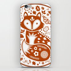 Copper Fox iPhone & iPod Skin