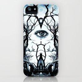 Tree of Life Archetype Religious Symmetry iPhone Case