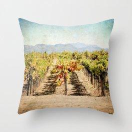 The Vineyard Throw Pillow