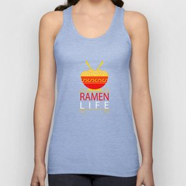 Ramen Life T-Shirt - Funny Ramen Noodles Bowl Asian Food Tee Unisex Tank Top