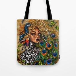 Jungle Queen Tote Bag