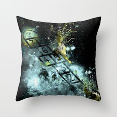 playing a game without even knowing if there's something to win Throw Pillow