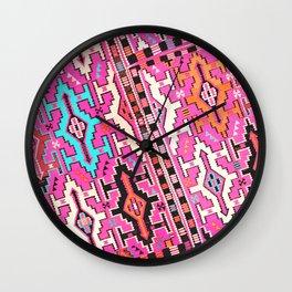Aztec Kilim 2 Wall Clock