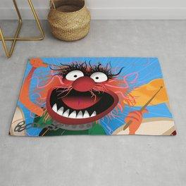 Animal Muppets' Drummer Rug