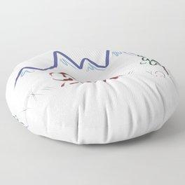 Mountain Air II Floor Pillow