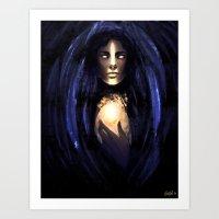 Spirit Anchor Art Print