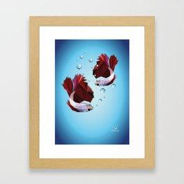 The Fighters - Daniela Mela Framed Art Print