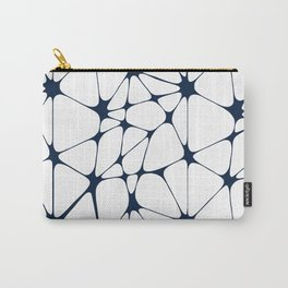 Westwood in Navy Blue + White Carry-All Pouch