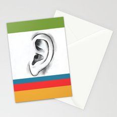 I am listening  Stationery Cards