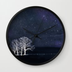 The Fabric of Space and the Boundary of Knowledge Wall Clock