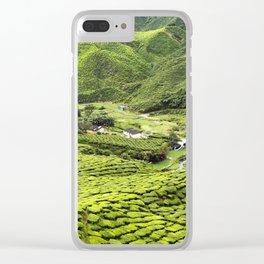 Cameron Highlands Tea Plantation Malaysia Clear iPhone Case