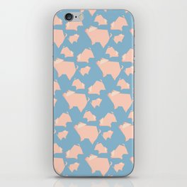 Paper Pigs (Patterns Please) iPhone Skin